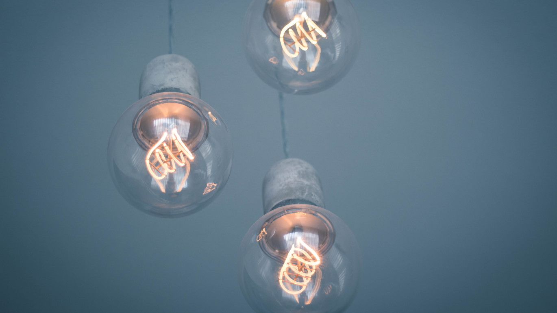 led pærer i gammle lamper
